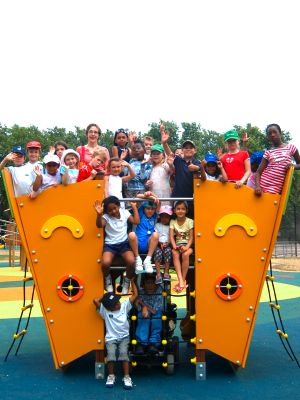 New Archbishop's Park playground proves a big hit