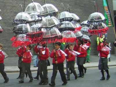 Southwark pupils in Lord Mayor's Show