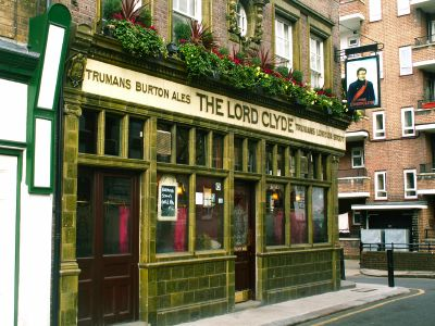 The Lord Clyde in Clennam Street