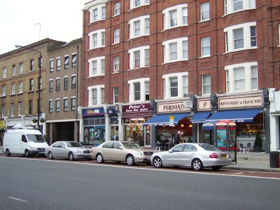 New parking bays outside Kennington Road shops