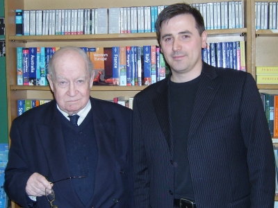 John Calder and Alessandro Gallenzi