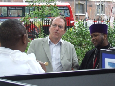 Simon Hughes MP visits the cultural showcase in St
