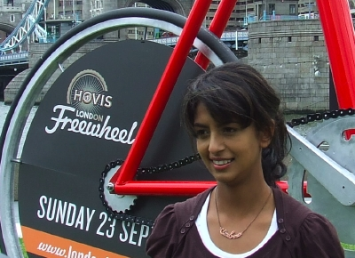 Konnie Huq in Potters Fields Park