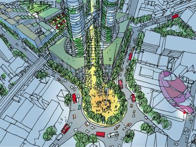 2004 Elephant and Castle masterplan image