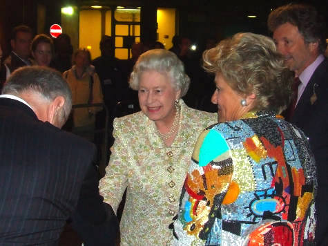 The Queen at the Royal Festival Hall