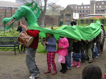 The Great Southwark Dragon Quest in St George's Ga