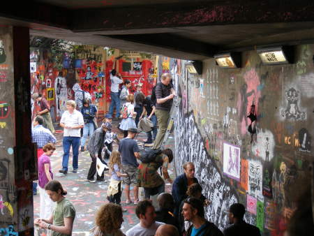 Cans Festival: Street art show brings crowds to Leake Street