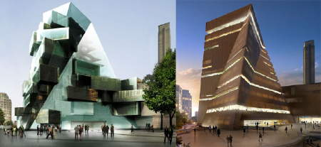 Tate Modern extension swaps glass for brick