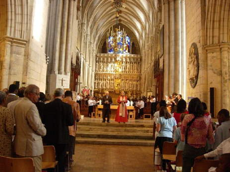 Induction of Revd John Chambers at Southwark Cathe