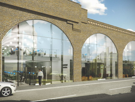 Bankside railway arches get office makeover