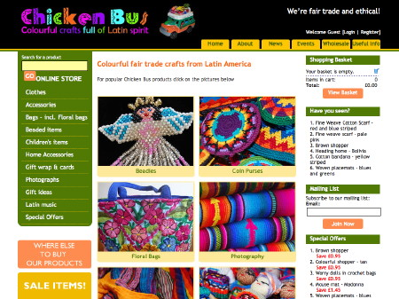 SE1-based Latin American craft business launches new website
