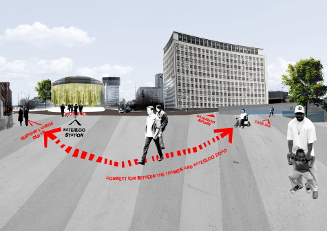 DSDHA wins Waterloo City Square competition