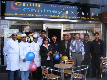 Chilli Chutney Express in York Road SE1