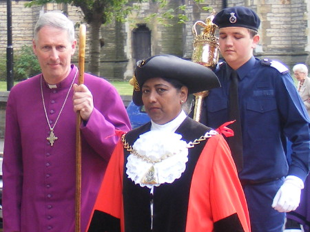 Mayor of Southwark and bishop of Woolwich