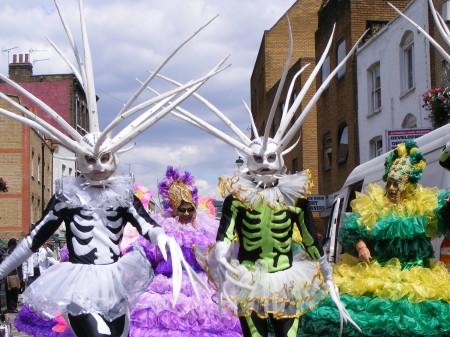 Lower Martians come to Lower Marsh for Waterloo Carnival