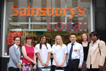 Borough High Street Sainsbury's Local staff to promote diabetes awareness