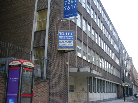 Surrey House in Lavington Street SE1