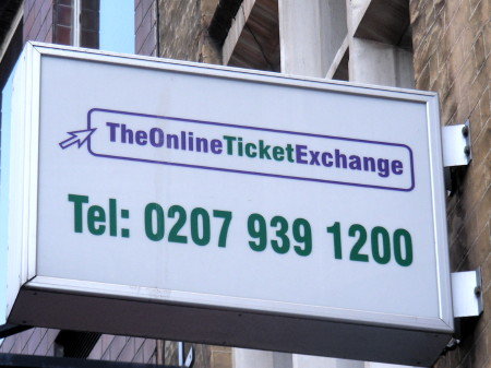 Borough High Street's Online Ticket Exchange is wound up in the High Court