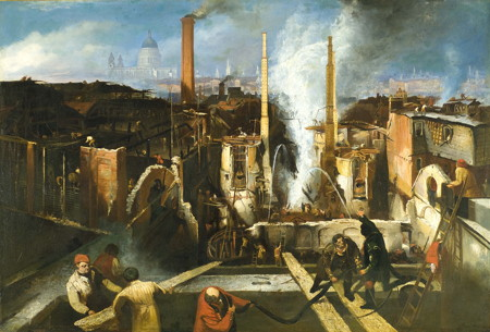 The Burning of the Anchor Brewery