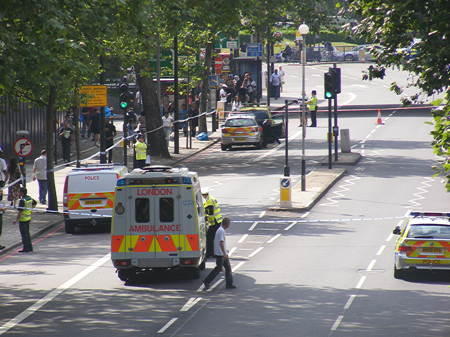 Man critically injured in New Kent Road collision