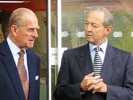 Duke of Edinburgh and Daniel Topolski