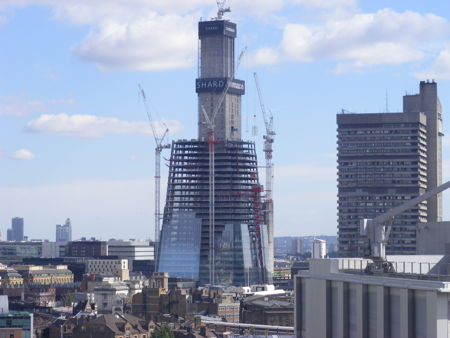 Shard skyscraper noise reduction efforts win national award