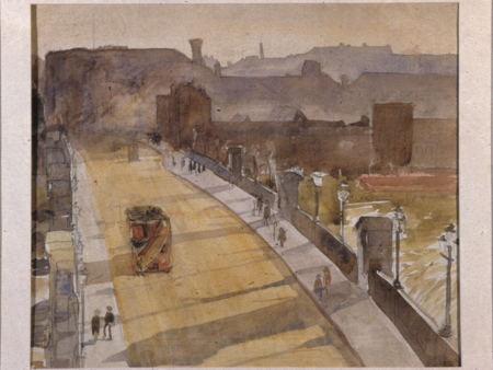 Southwark Bridge, 1922 - Grace Golden