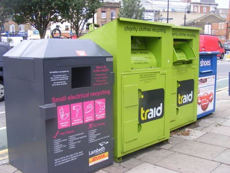 New recycling bin for small electrical appliances in Waterloo