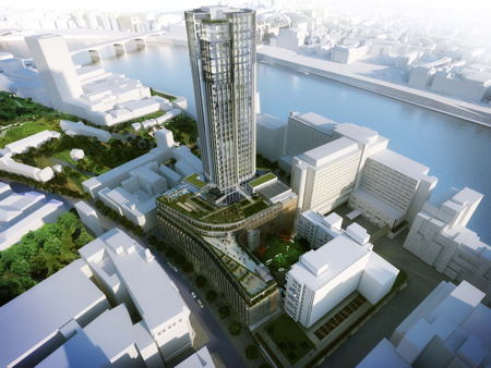 Council approves conversion of King's Reach Tower to luxury flats
