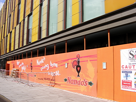 Nando's applies to wrong council for Coin Street restaurant licence