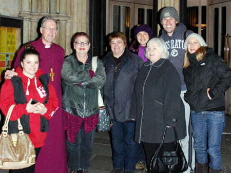 Bishop and MP sleep out in Southwark Cathedral churchyard for homelessness charity