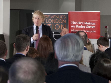 Boris Johnson praises