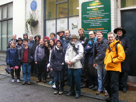 Storytellers embark on pilgrimage from Southwark to Canterbury