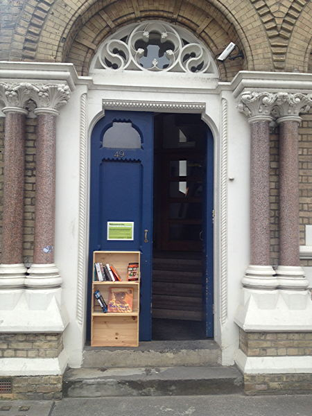 Southwark Street book exchange launched by communications firm