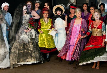 Dickens-themed fashion show at London Bridge nightclub