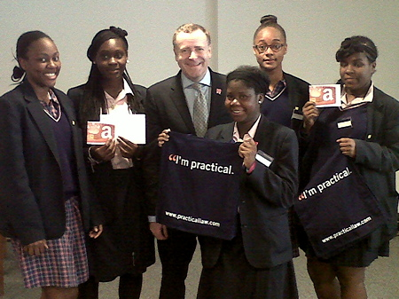 Practical Law Company helps Lambeth and Southwark students onto career ladder