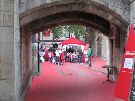 Swiss Fan Zone opens for Paralympics