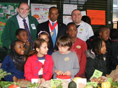 School pupils bring local produce to Borough Market harvest sale