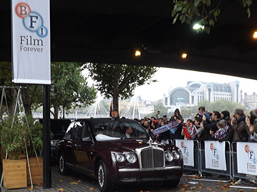 Queen visits Jubilee Gardens and BFI Southbank