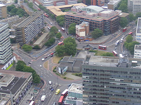 Campaign for safer roads at Elephant & Castle
