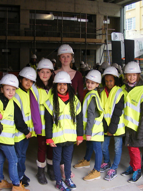 Lambeth kids visit Rambert Dance Company's new South Bank home