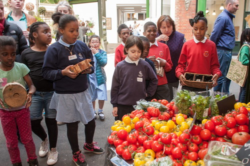 Southwark kids learn to grow produce to sell at Borough Market
