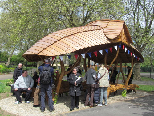 Archbishop's Park Bower unveiled