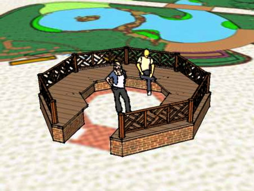 Red Cross Garden bandstand to be rebuilt
