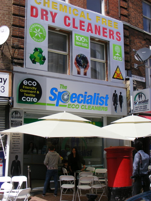 'Eco dry cleaning' shop opens in Tower Bridge Road