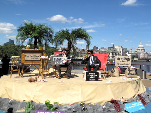'Tax haven' island set up on South Bank