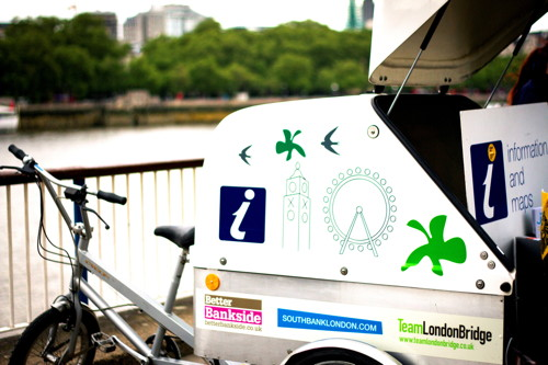 InfoBikes return to South Bank, Bankside and London Bridge