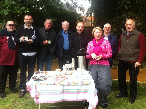 All Hallows: locals and church plan future over coffee and cake