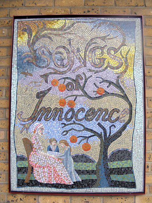 Blake's Lambeth mosaics project up for National Lottery Award