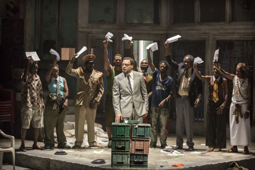 A Season in the Congo at the Young Vic